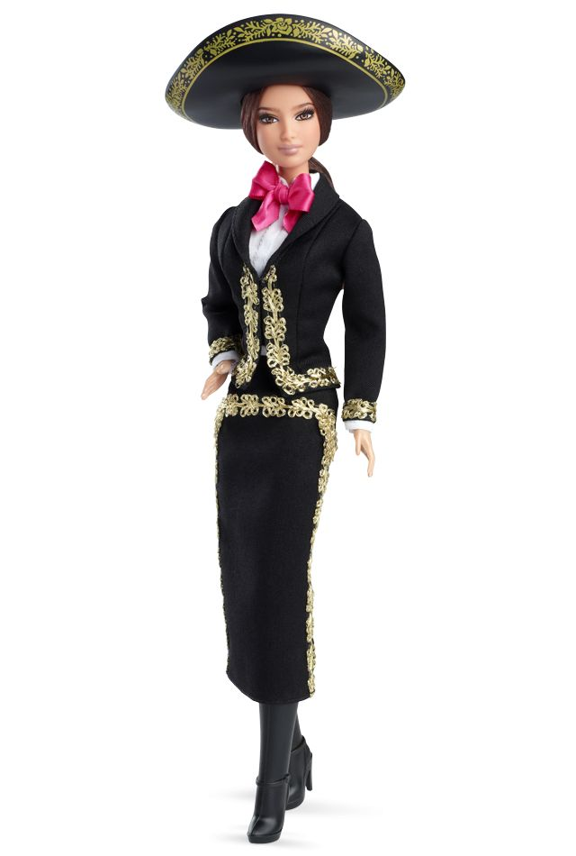 2014 Mexico Barbie® Doll | Barbie Collector, Designed by: Linda Kyaw Release Date: 5/5/2014 Product Code: BCP74, $24,95 Orginal Price