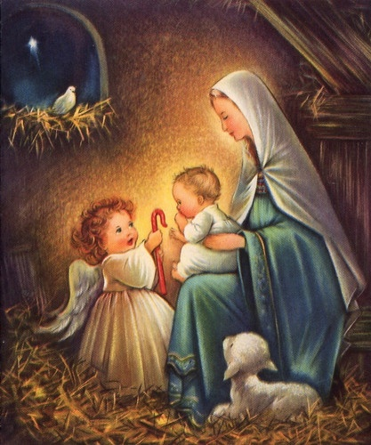 Holy Family Admires Jesus Nativity Religious Christmas: 274 Best Images About Come Let Us Adore Him On Pinterest