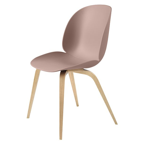 Gubi Beetle Chair Oak Sweet Pink Beetle Chair Gubi Beetle Chair Gubi Beetle Dining Chair