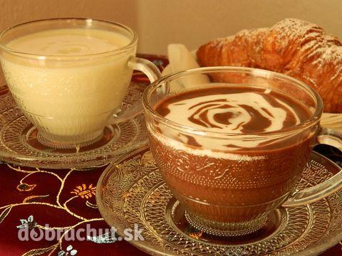 Horúca čokoláda s kokosovým mliekom - Horúca čokoláda s príchuťou kokosu...