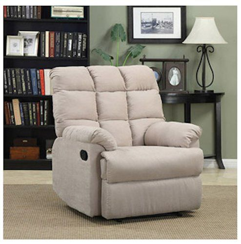 Armchair Recliner Chair A Large Rocking Overstuffed Wall Hugger