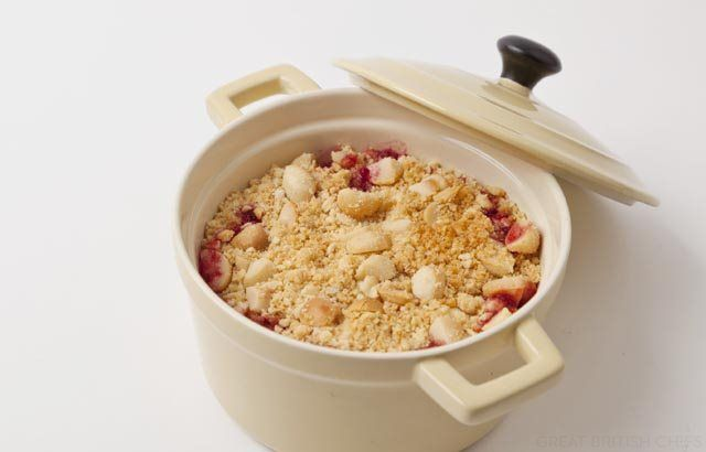 Apple Crumble Recipe With Blackberries & Macadamia Nuts