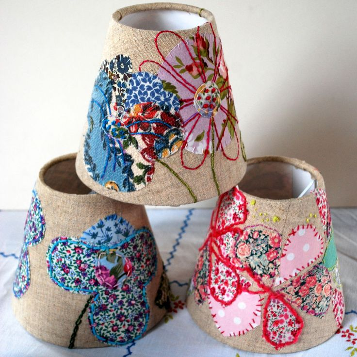 Hand Embroidered Lampshade Workshop with Marna Lunt - Leah Halliday