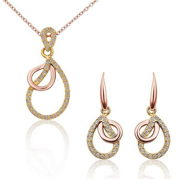 best friends Austrian Crystal jewelry set horloge SMTPS302