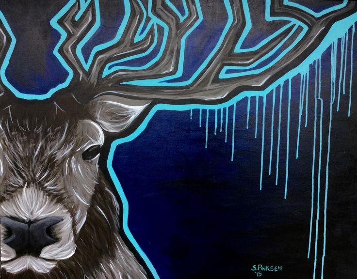 By Sabrina Pinksen - acrylic paint on canvas 2015