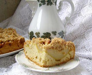 W Mojej Kuchni Lubię.. : ciasto na oleju jabłkowo-gruszkowe z cynamonową kr...