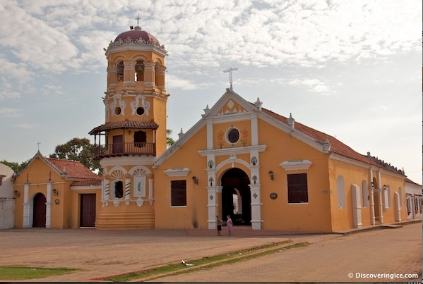 Santa Barbara Church in Mompox, #Colombia