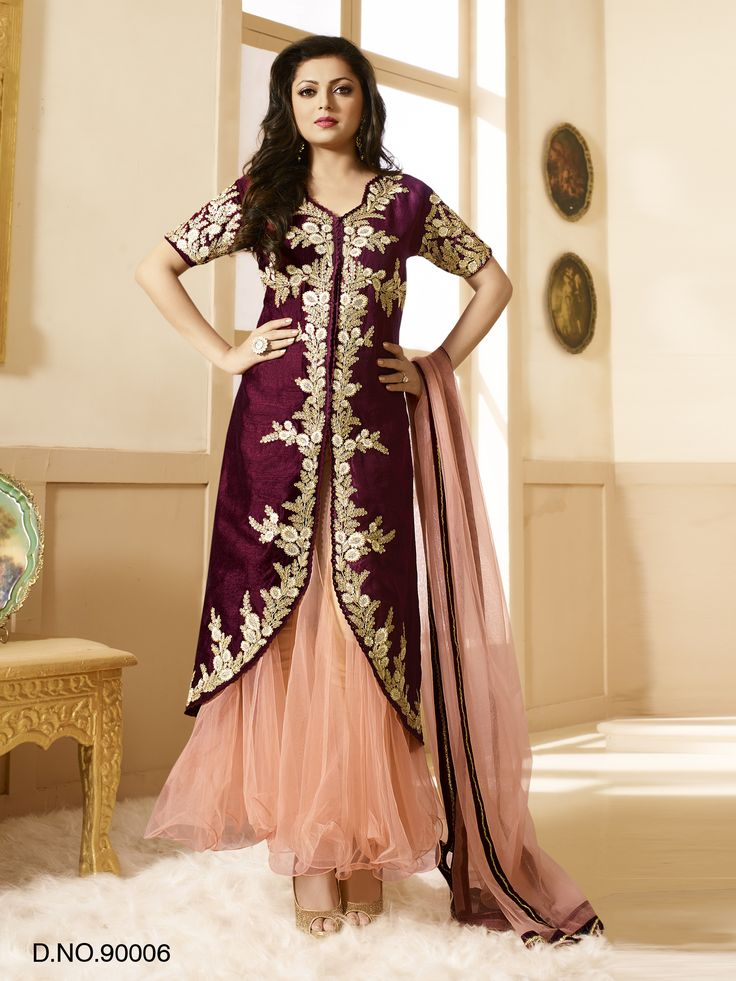 #VYOMINI - #FashionForTheBeautifulIndianGirl #MakeInIndia #OnlineShopping #Discounts #Women #Style #EthnicWear #OOTD #Suit Only Rs 4380/, get Rs 712/ #CashBack,  ☎+91-9810188757 / +91-9811438585