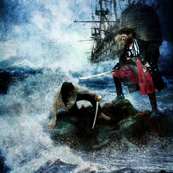 "The Revenge Of Calico Jack by ChrisRawlins -- Possibly for the fight between ""S"" and ""M"""