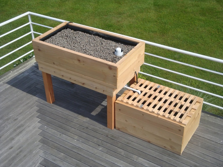 17 best images about aquaponic garden on pinterest for Balcony aquaponics