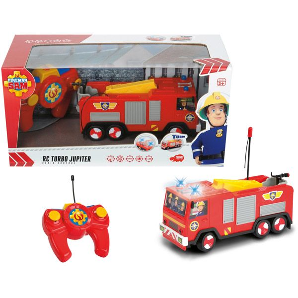 Sam le pompier camion radio commande 1/24 jupiter