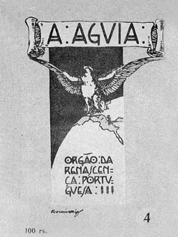 A Águia foi uma revista mensal, de literatura, arte, ciência, filosofia e crítica social, que se publicou no Porto, entre 1910 e 1932. A revista iniciou a sua publicação em Dezembro de 1910 descrevendo-se como quinzenal ilustrada de literatura e crítica, tendo como director e proprietário Álvaro Pinto.