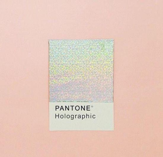 HOLOGRAPHIC IRIDESCENCE