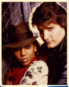 Peter DeLuise & Holly Robinson