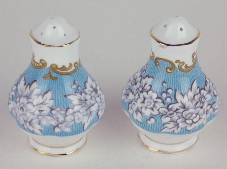 Salt Pepper Shaker Set Royal Albert Enchantment   eBay