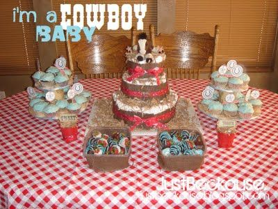 Just Beckause: Cowboy themed Baby Shower