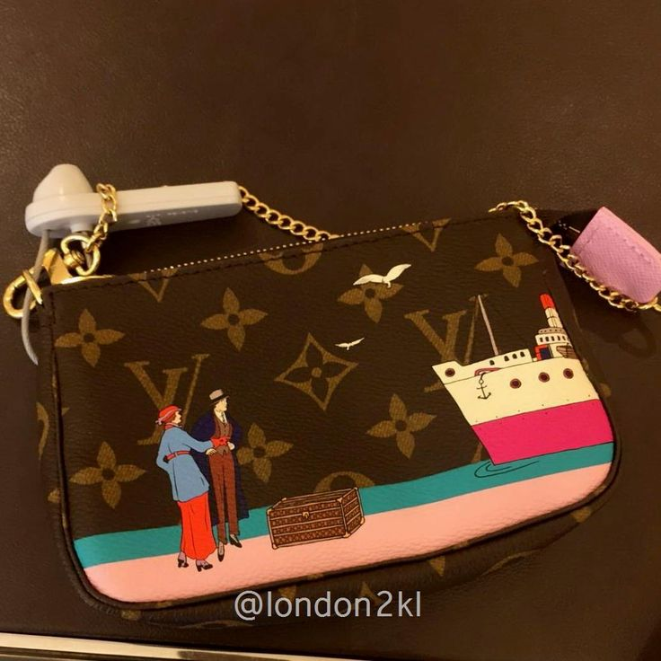 Louis Vuitton Mini Pochette RM1,300.   ❤❤ it?   Contact me on WhatsApp +44 7535 715 239 to order or for any enquiries.   Once it's gone, it's gone!   See more 👉: #L2KLlv #L2KLlv #L2KLlv    This weekend we are showcasing LV, Swarovski, and Adidas including the Y 3  brand, #L2KLshowcase  #L2KLshowcase  #L2KLshowcase