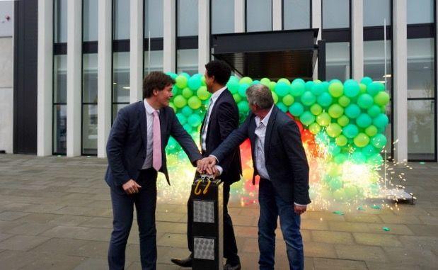 Opening nieuw bedrijfspand van The Greenery in Breda. #Openingsact #bedrijfsopening #evenementenbureau #bedrijfsfeest