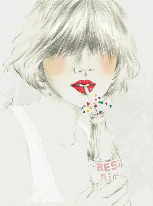 Fashion illustration x #illustration #painting #drawing