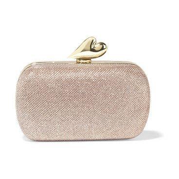 On SALE at 50% OFF! love metallic mesh clutch by Diane Von Furstenberg. Diane von Furstenberg neutral Love clutch . Metallic mesh . Gold hardware . Internal patch pocket, designer plaque . ...