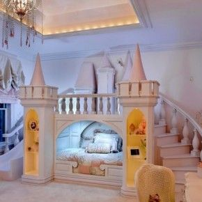 kids room beautiful prince and princess bedroom design with chandelier and glass door also curtain and wall light also castle bed 12 fantastical fairy