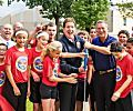 Jake Steinfeld Delivers 12 'Don't Quit!' Fitness Centers To Schools In 4 States