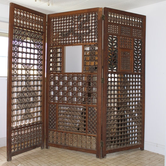 Best Oriental Wood Screens ~ Best images about folding screens and room dividers on