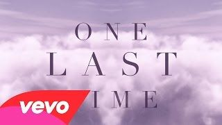 Ariana Grande - One Last Time (Lyric Video) - YouTube