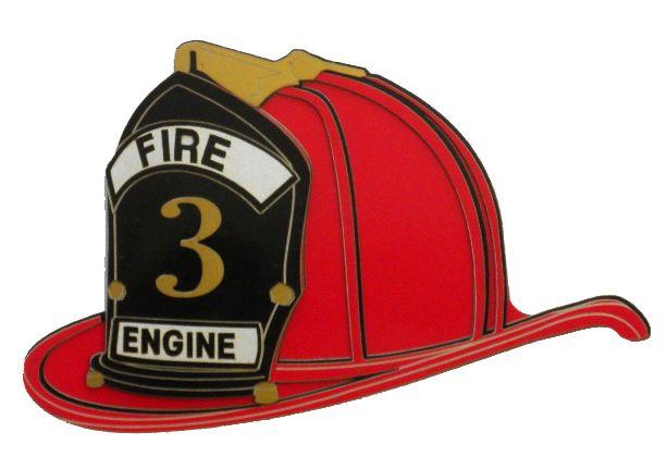 Paper Wizard - Die Cuts - Firefighter's Helmet  $6.99