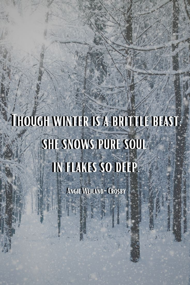 Winter Quotes To Make The Soul Sparkle Winter Quotes Weather Quotes Nature Quotes