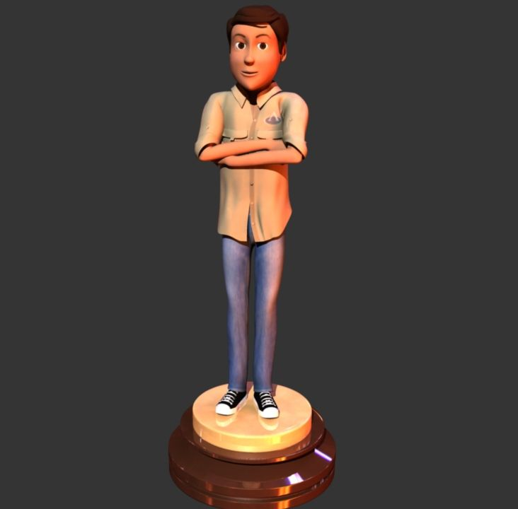 Render Arpi - Entrega de Oscars