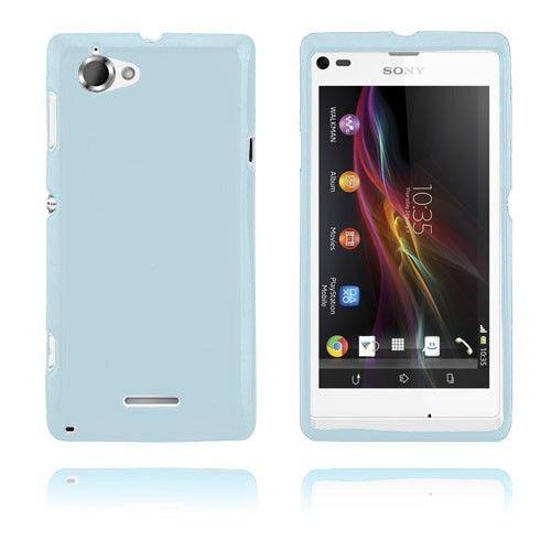 GelCase (Sininen) Sony Xperia L Suojakotelo