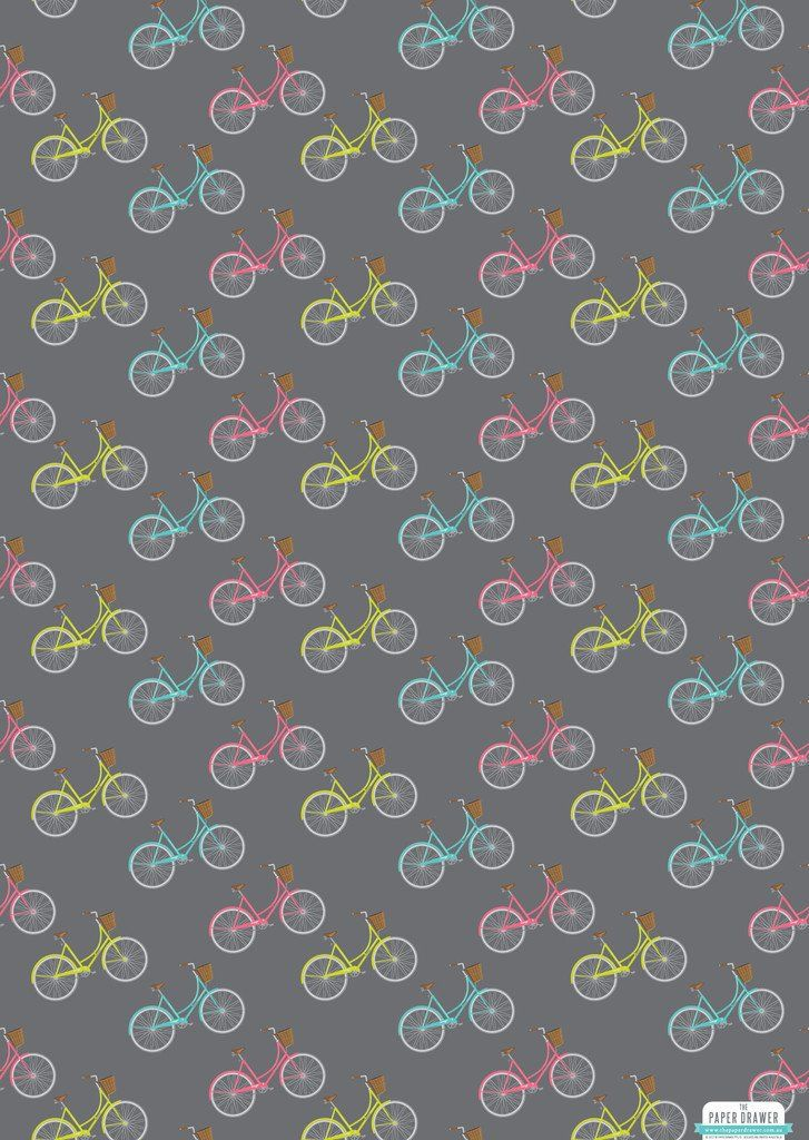 PD Vintage Bicycles Wrapping Paper