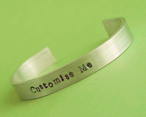 Customisable bracelet custom bracelet personalised by PimpYourGeek