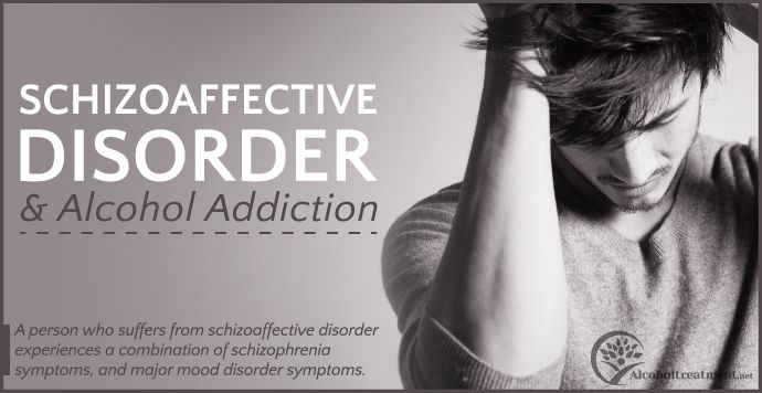 A person who suffers from schizoaffective disorder experiences a combination of schizophrenia symptoms and major mood disorder symptoms.  Read more below. Contact a treatment specialist today at (877) 416-5558. #psychiatricdisorder #alcoholism #dualdiagnosis #recovery