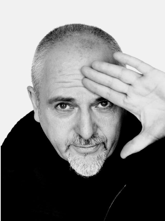 Peter Gabriel - A very unique voice, fine musician, and influential person.  One of my all time favorite musicians.