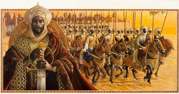 The Songhai Empire, the largest state in African history, covered 1.4 million square kilometers by 1500. With Timbuktu as its capital, it was a center of international trade, with merchants flocking there from as far away as Italy.