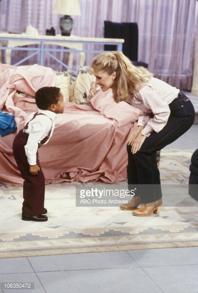 Green- Eyed Monster' - Airdate October 28, 1983. (Photo by ABC Photo Archives/ABC via Getty Images) EMMANUEL LEWIS;KIMBERLY BECK-HILTON