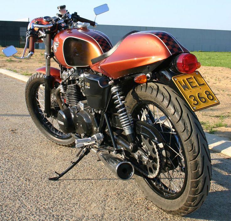 40 best kawasaki kz400 images on pinterest   cafe racers, custom