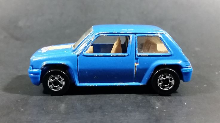 1991 Hot Wheels Renault 5 GT Turbo Blue Die Cast Toy Car Vehicle - Only Sold in Canada https://treasurevalleyantiques.com/products/1991-hot-wheels-renault-5-gt-turbo-blue-die-cast-toy-car-vehicle-only-sold-in-canada #Rare #1990s #HotWheels #Renault5GT #Renault #Turbos #Blue #DieCast #Toys #Cars #Vehicles #Autos #Automobiles #Collectibles #OnlySoldInCanada #FastCars