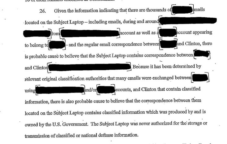 FBI Forced to Release Late-October Computer Warrant, Proves Election Was Stolen from Hillary   Bluedot Daily