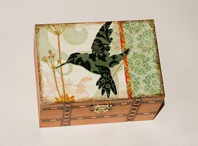Szkatułka- Koliber