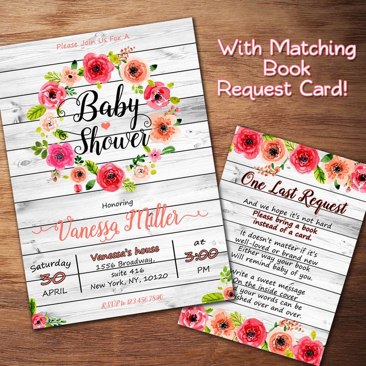 25+ best ideas about floral baby shower on pinterest | baby shower, Baby shower invitations