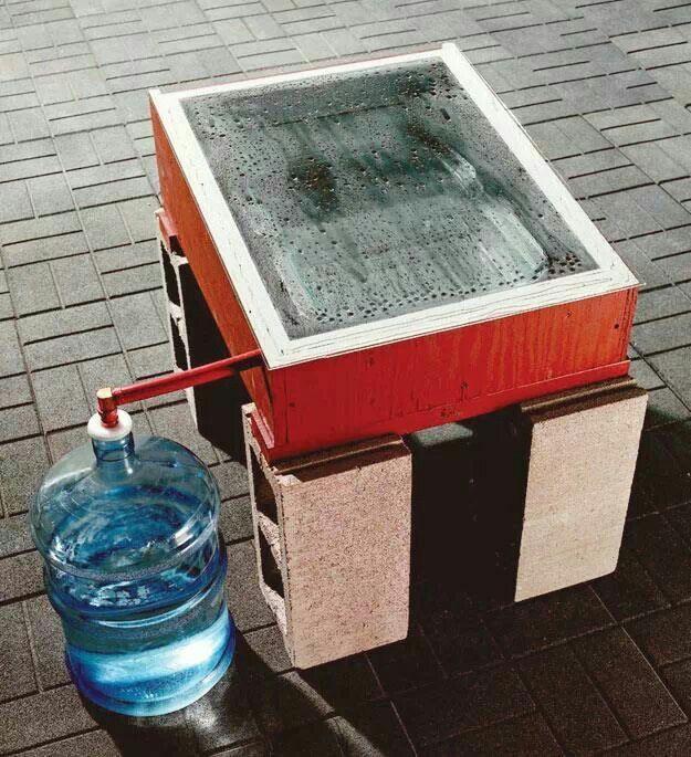 Building A Water Distiller ~ Solar water distiller the lulu tree project pinterest