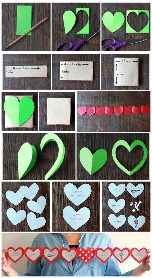 I Love You More Than... | 40 Unconventional DIY Valentine's Day Cards