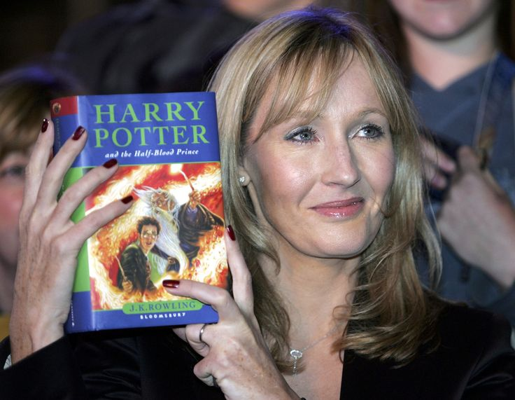 JK Rowling. Harry Potter is the best book series ever written, in my opinion. Not a huge fan of her new mystery book, but still my favorite author.