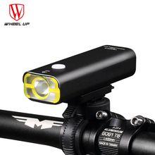 ROUE UP Usb Rechargeable Lumière De Vélo Avant Guidon Vélo Led Lumière Batterie lampe de Poche Torche Phare Vélo Accessoires(China (Mainland))