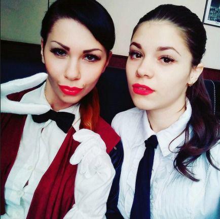 Selfie Before Work Dressed In Formal Work Uniforms   Flickr