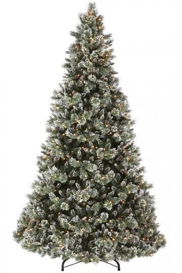 Martha Stewart Living™ Glistening Pine 9u0027 Pre Lit Artificial Tree   Tall  Christmas