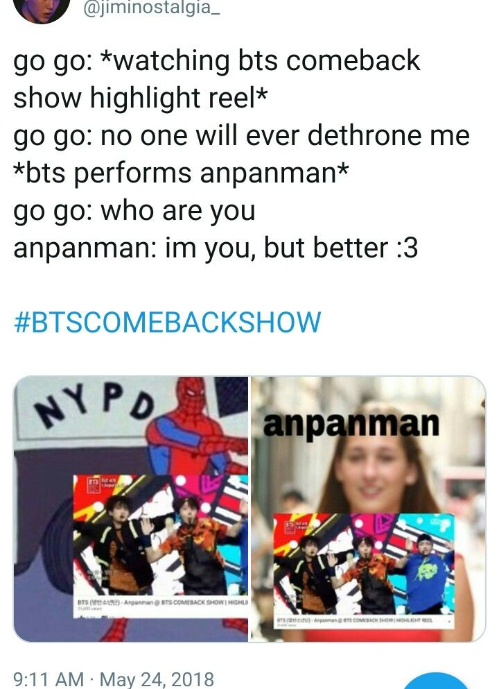 HONESTLY WHILE I WAS WATCHING ANPANMAN IT REALLY REMINDED ME